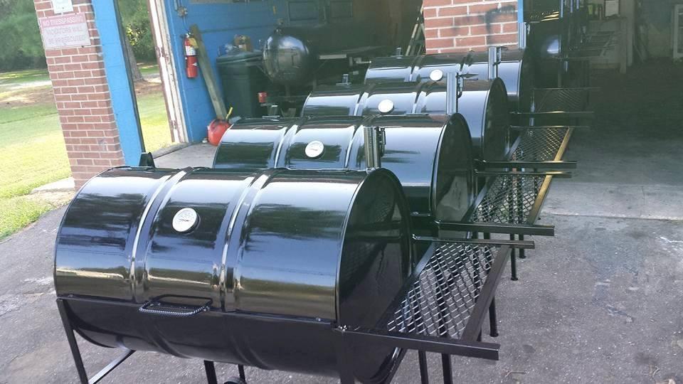 55 Gallon Barrel Grills Single Rack 150 Double Rack